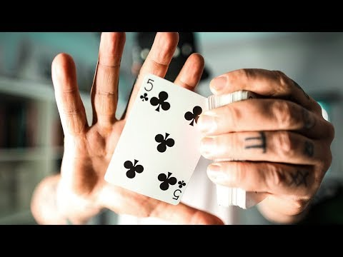 The BEST way to VANISH a playing card INSTANTLY!