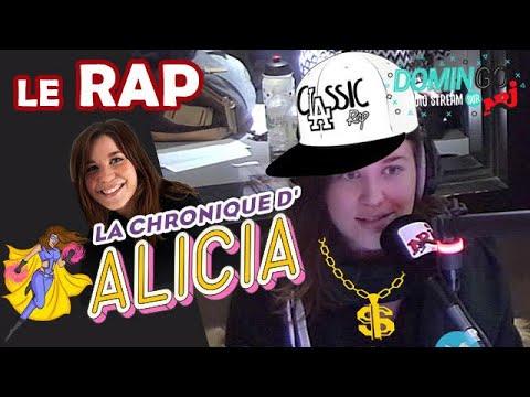 Le Rap - La Chronique d'Alicia - DominGo Radio Stream sur NRJ