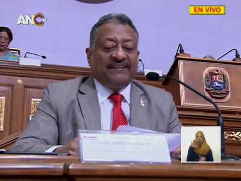 Asamblea Nacional Constituyente, sesión 6 noviembre 2018 completa