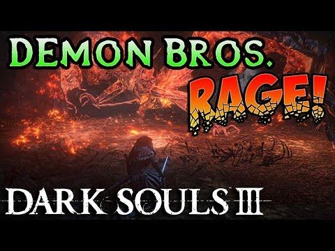 DEMON PRINCE BOSS! Dark Souls 3 The Ringed City DLC Rage (#2)