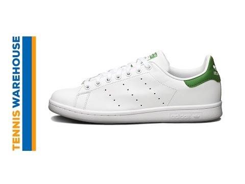sneakers for cheap 62c7b e5bf3 adidas Original Stan Smith Shoe - YouTube