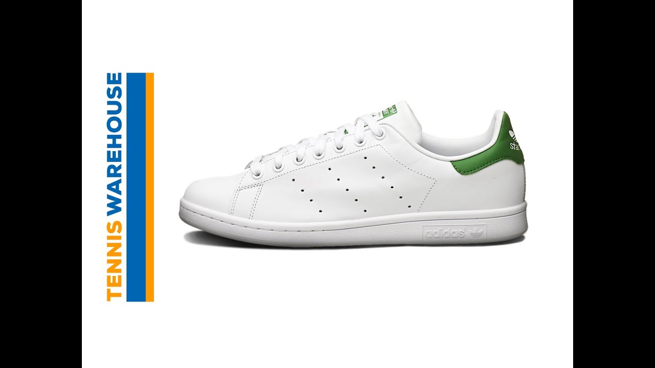 adidas Original Stan Smith Shoe - YouTube efecb0ed559b8