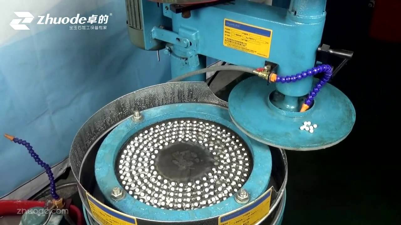 How To Make Round Beads By Milling Machine Can Use For