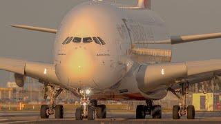 STUNN NG EM RATES A380 Take Off