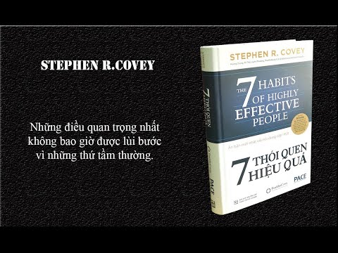7 thói quen hiệu quả - Stephen R covey - Review sách - Sách tư duy