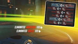 10 GENJIS, DASH ONLY!! -  Overwatch Custom Games