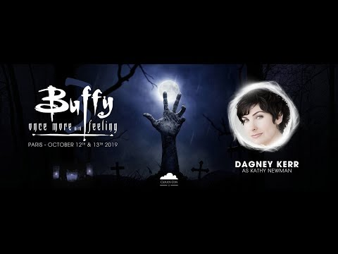 Convention Buffy 3 - Once More With Feeling : Dagney KERR