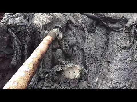 Leilani Estates unique features of a lava flow 8:10 AM May 26 2018