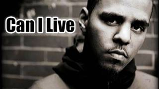 J. Cole - Can I  Live [HD] Lyrics
