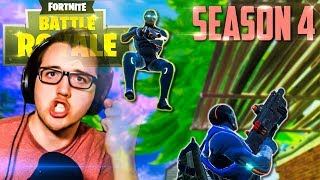 JUST BUILD!! | Fortnite Season 4 Challenges and New Skins | Solo PC Gameplay