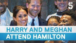 Meghan Markle and Prince Harry watch Hamilton | 5 News