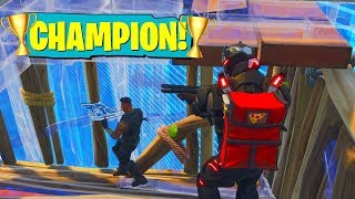 MY FIRST COMPETITIVE FORTNITE MATCH! (50,000 V-BUCK PRIZE!)