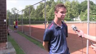 Jakub Novák po prohře v prvním kole kvalifikace na turnaji Futures v Pardubicích