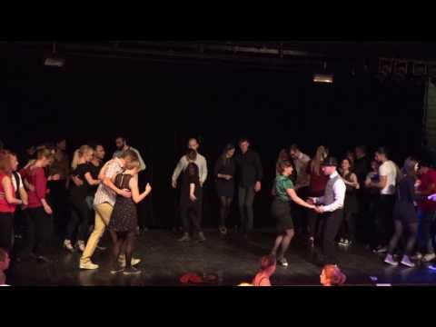 Dansfest Swing Salsa Tango (Lektionspass), Lund 2017