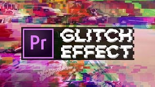 Glitch Transition Effect in Premiere Pro w/ Glitch Preset Download! | Educational