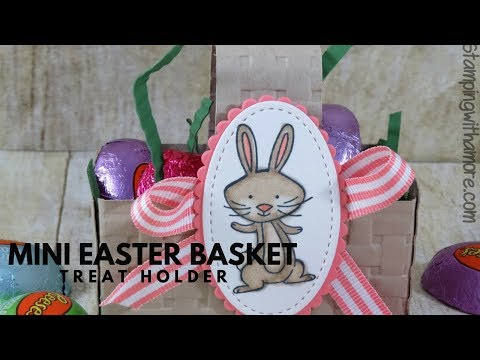 MINI EASTER BASKET TREAT HOLDER