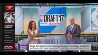   Winner of the 2017 NBA Draft   NewYork Knicks draft pick  
