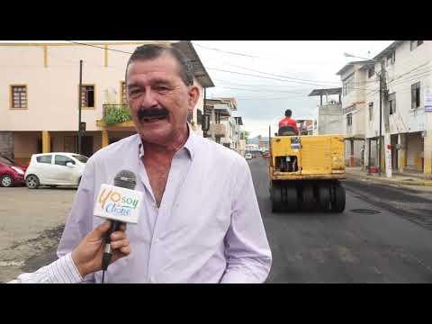 Microinformativo Yo Soy de Chone - Calle Salinas fue asfaltada