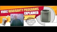 HVAC Extended Labor Warranties - Premium Protection Plans