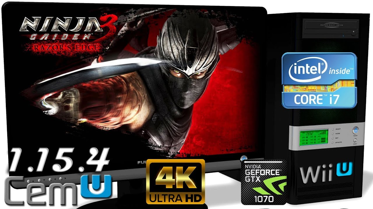 Cemu 1 15 4 Wii U Emulator Ninja Gaiden 3 Razor S Edge 4k Gameplay Opengl 3 Youtube