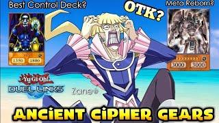 Cipher Gear Golem Meta Tragedy?| King Of Games|  Yu-gi-oh! Duel Links
