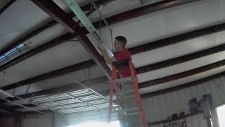 Shop Light Install