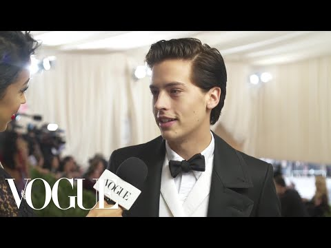 Cole Sprouse on Interning at the Met and His Artistic Aspirations  Met Gala 2018 With Liza Koshy