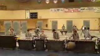 Westview Winter Percussion Industrial Zen WGI regional 2008