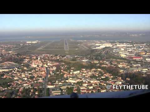 Visual Approach to RWY 31R Marseille (LFML, MRS) Airport, HD Cockpit View