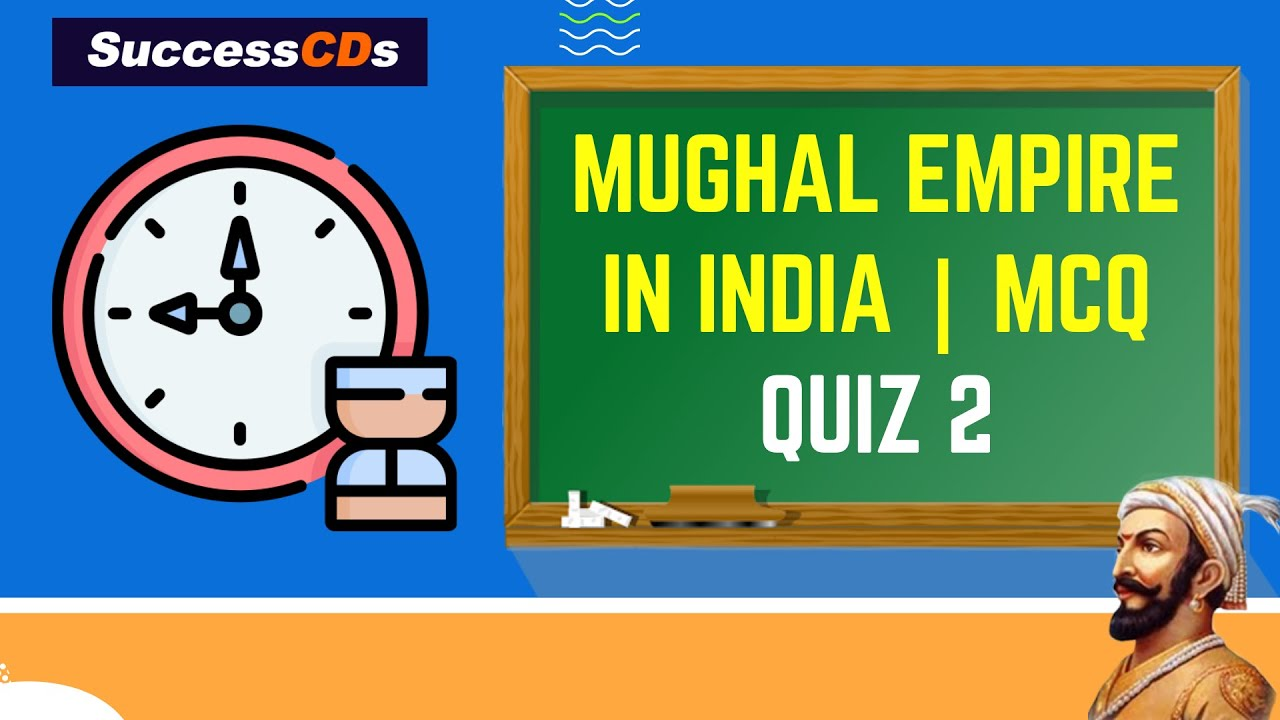 Mughal Empire in India | MCQ Quiz 2 | General Knowledge for Competitive exams #Shorts