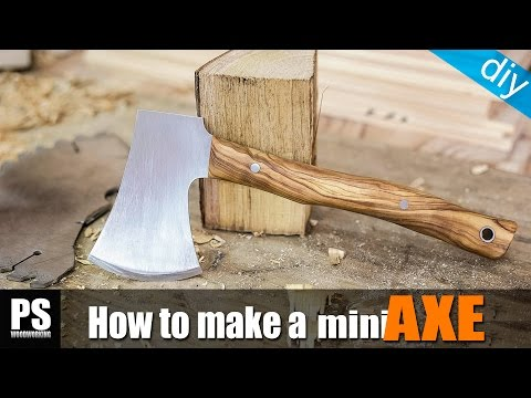 Making a Mini Axe (free plans)