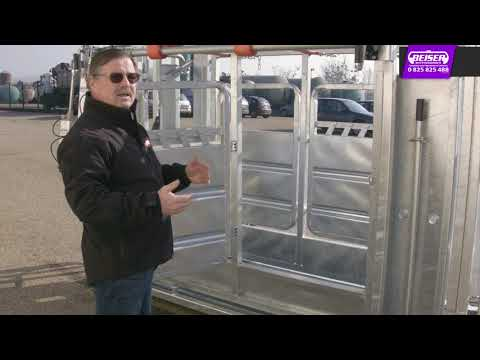 Cage à bovin pneumatique