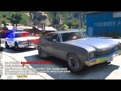 GTA 5 FiveM RP #1 - FIRST 64 Player Server AND I Got Pulled Over... LOL