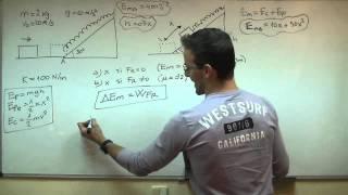 FISICA - Dinamica 03 SECUNDARIA (4ºESO) energia cinetica potencial mecanica