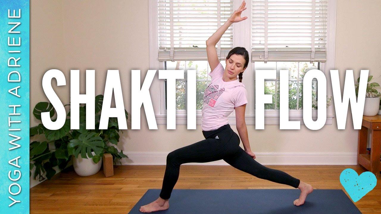 Shakti Power Flow - Yoga With Adriene - YouTube