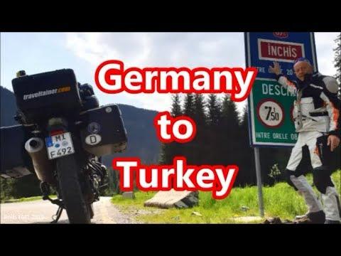 1. Deutschland-Türkei, 3.000km, Motorradtour Zentralasien, FMT 2019