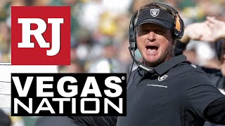 Raiders vs Packers Post Jon Gruden Game Presser