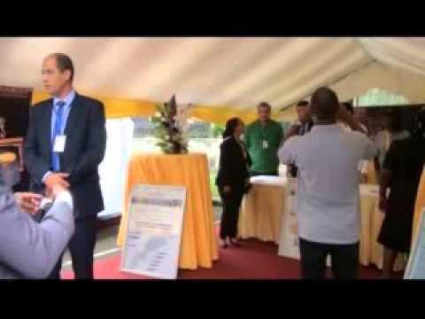 MAIXENT NKANI ACCOMBRESSI SOUTIENT LE DEVELOPPEMENT DURABLE AU GABON Forum HSE 2015