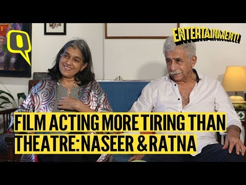 Films Don't Challenge You the Way Theatre Does: Naseeruddin Shah and Ratna Pathak Shah | The Quint