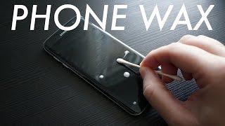 "Bring Back that ""New Phone"" Feeling using Glass Wax"