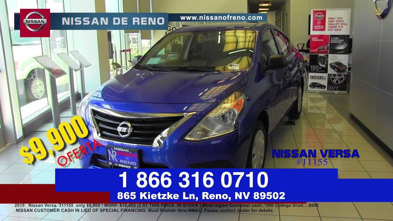 Douglas Bravo & Denise Reyes en Nissan de Reno