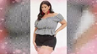Top 100 Plus Size Summer Lookbook - Curvy Fashion