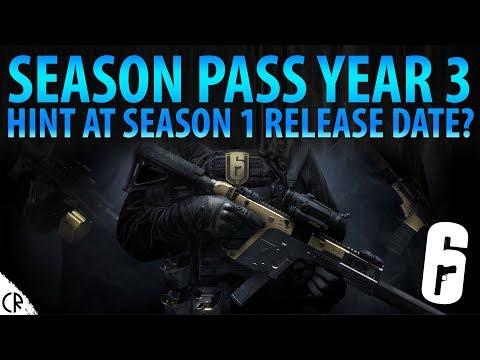 Year 3 Season Pass - Hints at Season 1 Release Date? - News - Tom Clancy's Rainbow Six Siege - R6
