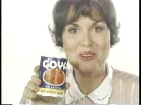 Zohra Lampert for Goya Beans 1985