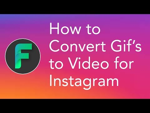 convert gif to video for instagram