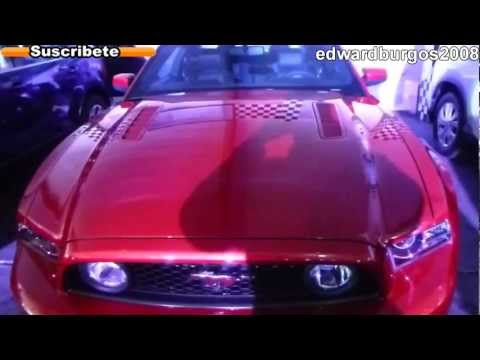 ford mustang 5.0 usado colombia brasil mexico Argentina video de carros auto show 2012 FULL HD Videos De Viajes
