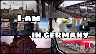 I took my first step to germany 👣 Erasmus is starting now 😎 🇩🇪