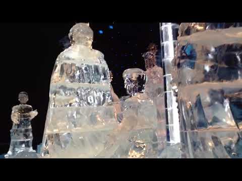 Ice sculptures grapevine, Texas