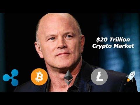 Billionaire Mike Novogratz Predicts a $20 Trillion Crypto Market - HODL!