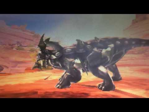 Tricera vs Mutant Ankylosaur